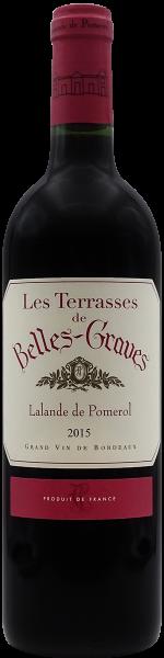 """Lalande-de-Pomerol """"Les Terrasses de Belles-Graves"""", Château Belles-Graves 2015"""
