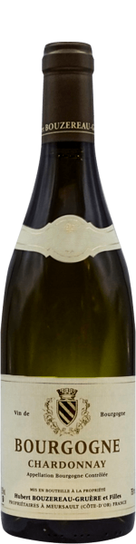 Bourgogne Chardonnay, domaine Bouzereau-Gruère 2018