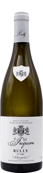 """Rully 1er Cru """"Margotés"""", domaine P&M Jacqueson 2018"""