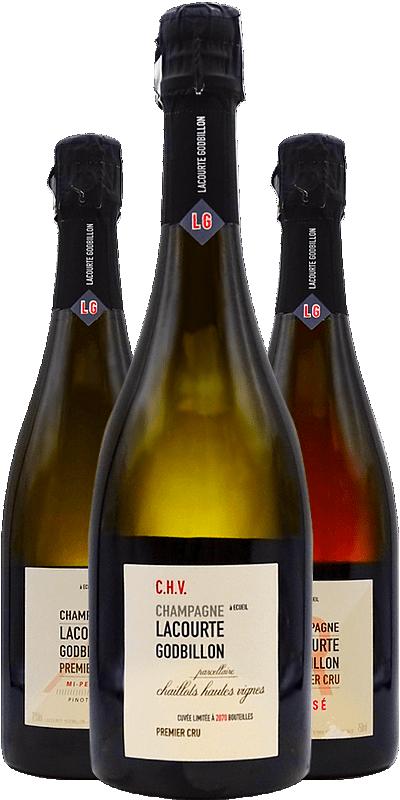 Lacourte-Godbillon : les Champagnes étincelants de la Montagne de Reims