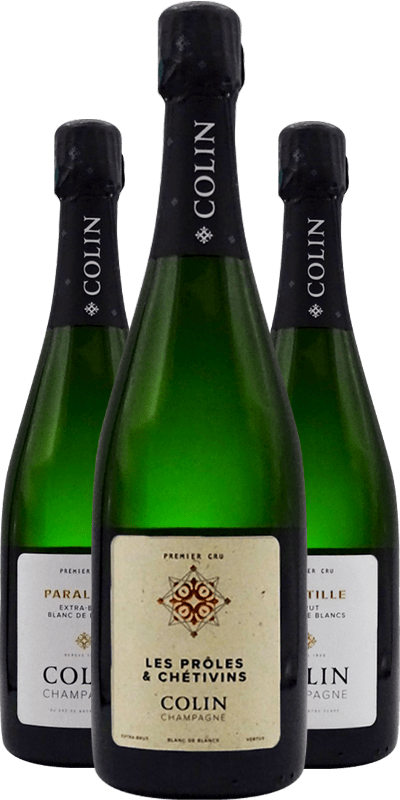 Champagne Colin: le Chardonnay de Vertus en état de grâce