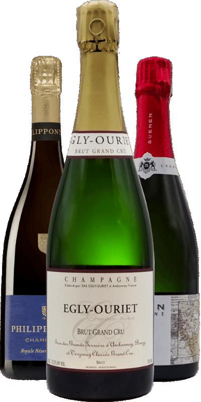 Egly-Ouriet, Suenen, Bedel, Horiot, Gerbais, Lacourte-Godbillon...: des Champagnes qu'il faut avoir goûté au moins une fois