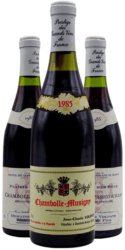 Jean-Claude Volpato : le millésime 1985 à Chambolle-Musigny